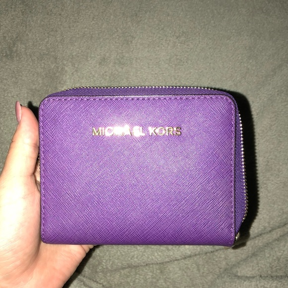 2ef5861c9bfddf Michael Kors Bags | Purple Mk Wallet | Poshmark